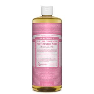 Dr Bronner's Pure Castile Liquid Soap Cherry Blossom 946ml