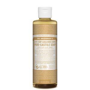 Dr Bronner's Pure Castile Liquid Soap Sandalwood and Jasmine 237ml
