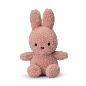Miffy Recycled Teddy Sitting Toy - Pink