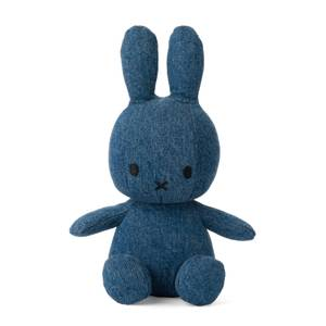 Miffy Sitting Toy - Denim