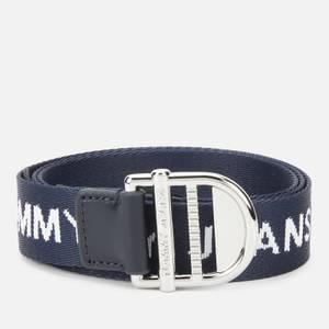 Tommy Jeans Women's Tjw Webbing Essential Belt - Twilight Navy
