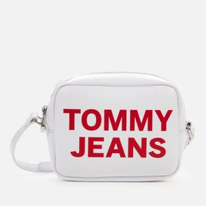 Tommy Jeans Women's Tjw Essential Pu Camera Bag - White