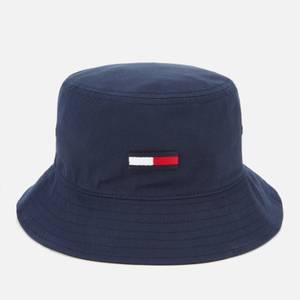 Tommy Jeans 女式 Tjw Flag 水桶帽 - 暮光海军蓝
