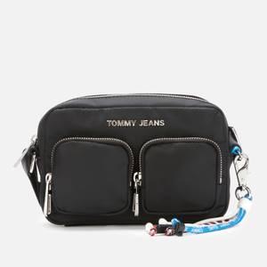 Tommy Jeans Women's Lace Charm Crossbody Bag - Black