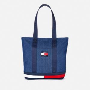 Tommy Jeans Women's Tjw Heritage Denim Tote Bag - Denim