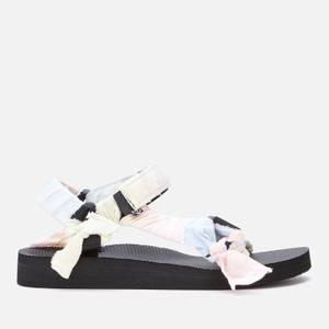 Arizona Love Women's Trekky Fabric Sandals - Pastel