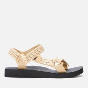 Arizona Love Women's Trekky Raffia Sandals - Natural