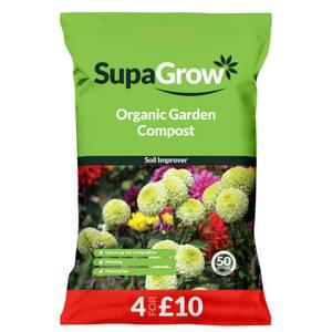 SupaGrow Organic Garden Compost - 50L