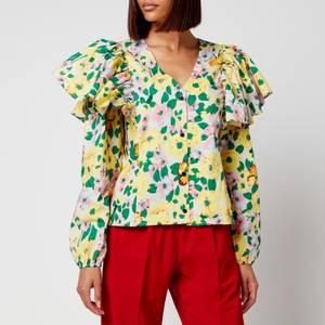 Résumé Women's Claris Shirt - Yellow