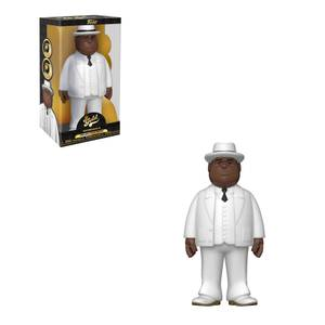 Biggie Smalls White Suit 12-Inch Funko Pop! Vinyl Gold