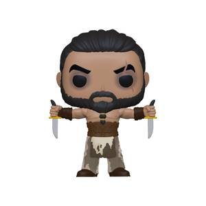 Game of Thrones Khal Drogo con pugnali Funko Pop! Vinyl