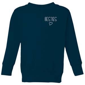 Besties Kids' Sweatshirt - Navy