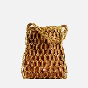 Simon Miller Women's Tiki Tote Bag - Chartreuse & Toffee