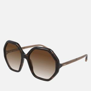Chloé Women's Esther Acetate Sunglasses - Havana