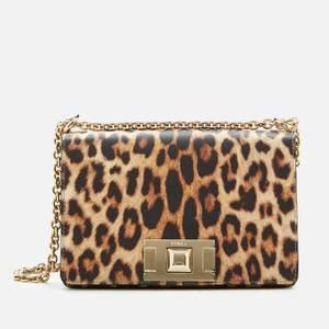 Furla Women's Mimi' Mini Cross Body Bag - Leopard