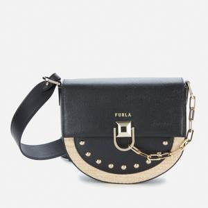 Furla Women's Miss Mimi' Mini Cross Body Bag - Desert/Black