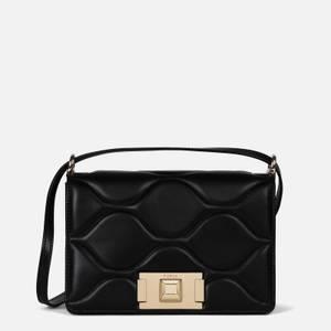 Furla Women's Mimi' Mini Quilted Cross Body Bag - Black