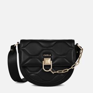 Furla Women's Miss Mimi' Quilted Mini Cross Body Bag - Black