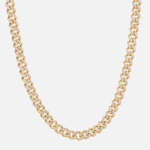 Crystal Haze Women's Mexican Chain - Gold