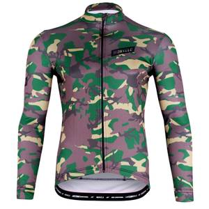 Camouflage Thermoactive Long Sleeve Jersey