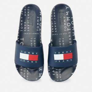 Tommy Jeans Men's Heritage Pool Slide Sandals - Twilight Navy