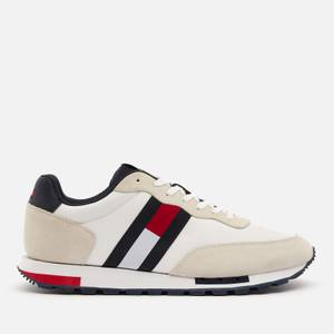 Tommy Jeans Men's Retro Mix Pop Running Style Trainers - White
