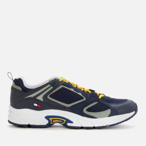 Tommy Jeans Men's Archive Mix Running Style Trainers - Twilight Navy