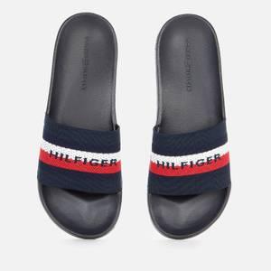 Tommy Hilfiger Men's Knitted Slide Sandals - Desert Sky