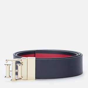 Tommy Hilfiger Women's TH Logo Reversible New 3.0 - Desert Sky/Corp Stripe