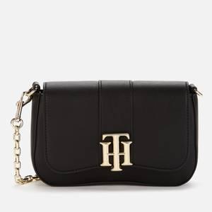 Tommy Hilfiger Women's TH Lock Crossover Bag - Black