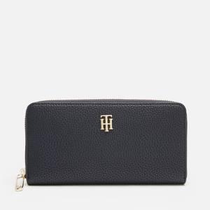 Tommy Hilfiger Women's TH Soft Large Wallet - Desert Sky
