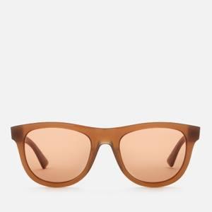 Bottega Veneta Men's Acetate Sunglasses - Brown/Gold