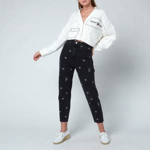 Tommy Jeans Women's Mom Jeans - Denim Black