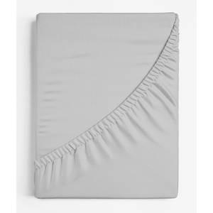 Copenhagen Home Oslo Fitted Sheet - Single - Silver