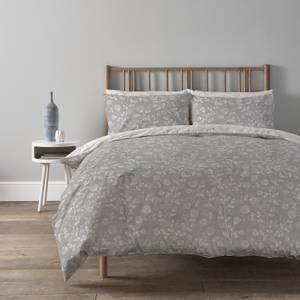 Copenhagen Home Elias Reversible Bedset - Double - Silver