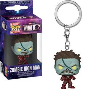 Marvel What If…? Zombie Iron Man Funko Pop! Keychain