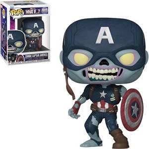 Marvel What If…? Zombie Captain America Funko Pop! Vinyl