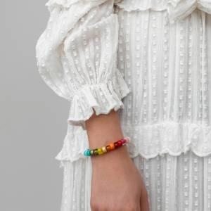 Anni Lu Women's Big Nuanua Bracelet - Rainbow