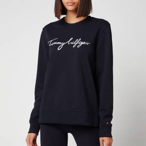 Tommy Hilfiger Women's Regular Graphic Crewneck Sweatshirt - Desert Sky