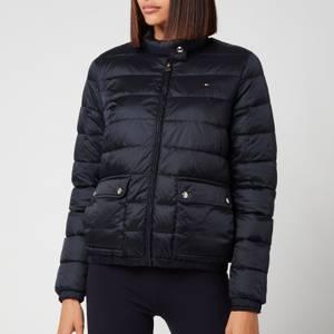 Tommy Hilfiger Women's Nylon LW Padded Jacket - Desert Sky