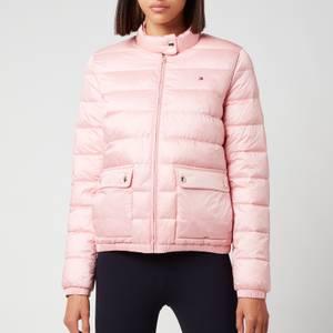 Tommy Hilfiger Women's Nylon LW Padded Jacket - Glacier Pink