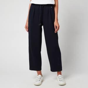 Tommy Hilfiger Women's Relaxed Grosgrain Trousers - Desert Sky
