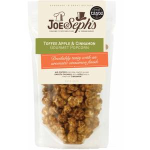 Joe & Seph's Toffee Apple & Cinnamon Popcorn Pouch - 120g