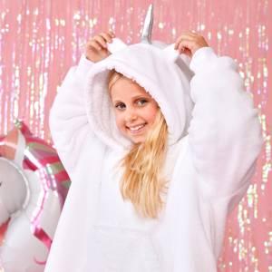 Unicorn Hooded Blanket - Kids