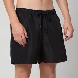 Tommy Hilfiger Men's Medium Drawstring Swim Shorts - Black
