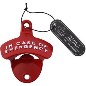 Dapper Chap 'In Case of Emergency' Bottle Opener