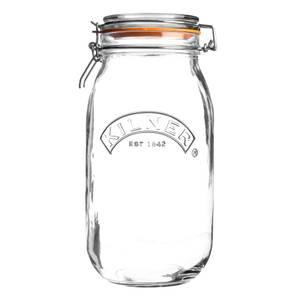 Kilner Clip Top Round Jar - 1.5L