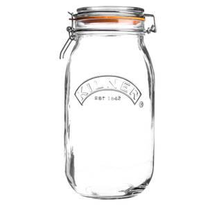 Kilner Clip Top round Jar - 3L