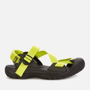 Keen Men's Zerraport 11 Sandals - Bright Yellow/Black