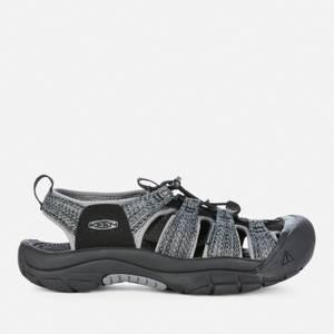 Keen Men's Newport H2 Sandals - Black/Steel Grey
